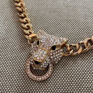 Aldo Panther Gold Chain Necklace